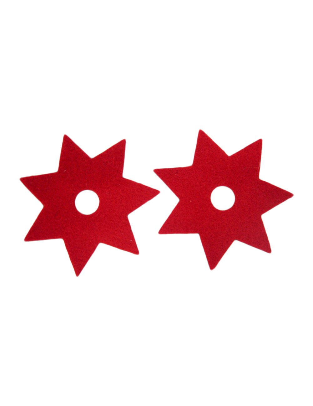 Amazon.com: Felt Magnets, Ninja Star: Red, 2 Pack ...