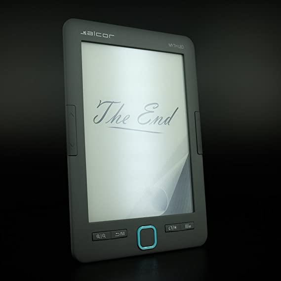 Alcor 5999561504155 Myth Led E Book Reader Black One Computers Accessories