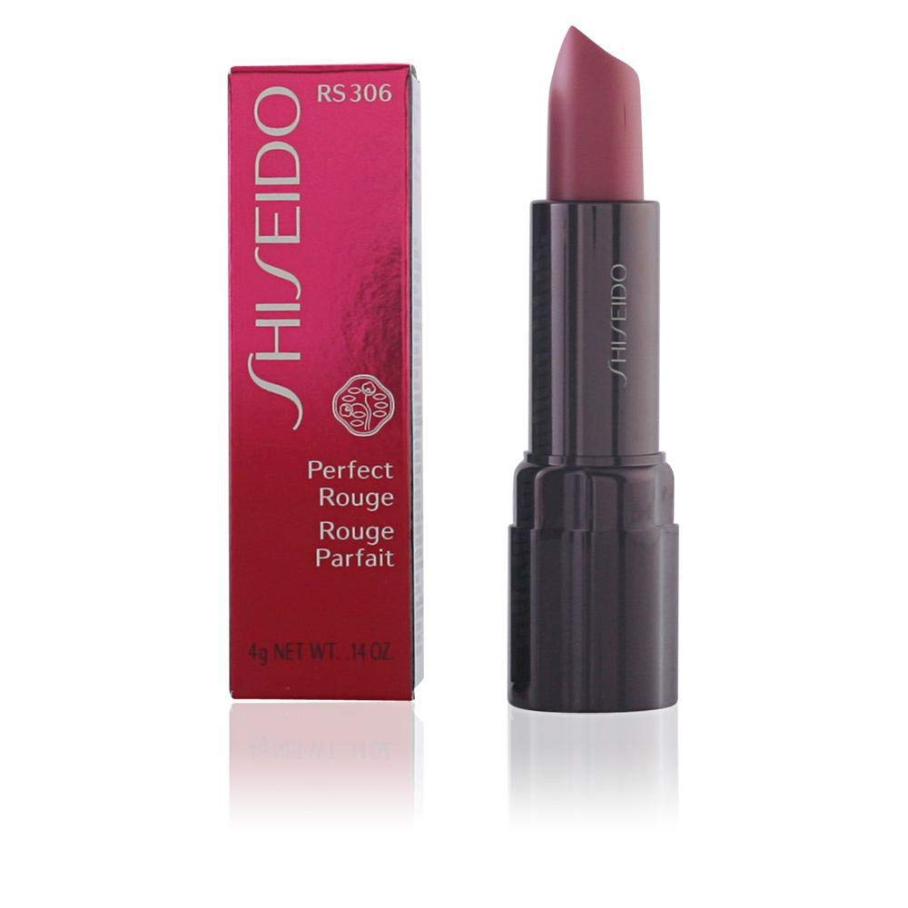Shiseido Perfect Rouge Lipstick for Women, OR341 Fleur, 0.14 Ounce