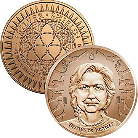 2017 Vladamir Putin Silver Shield Winter Is Here 3 x 1 oz Copper Rounds