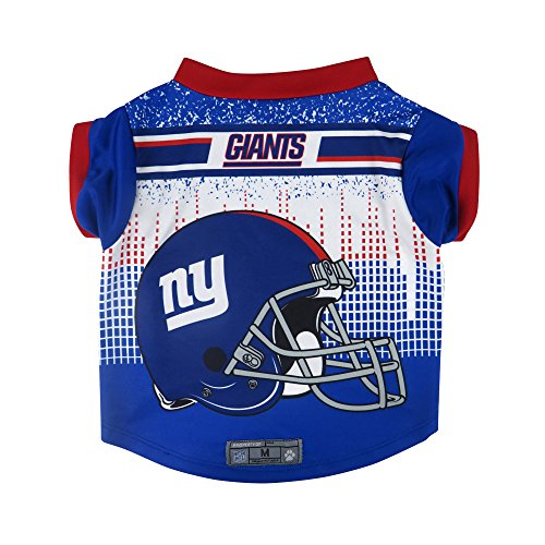 NFL New York Giants Pet Performace T-Shirt, Small