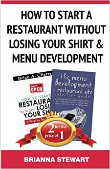 Book How To Start a Restaurant Without Losing Your Shirt and Menu Development