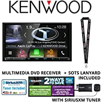 Kenwood Excelon DNX994S In Dash Navigation System 6.95 Touchscreen Display, Apple CarPlay, Android Auto, Built in Bluetooth, HD Radio & SiriusXM Satellite Radio Tuner, Antenna and a FREE SOTS Lanyard
