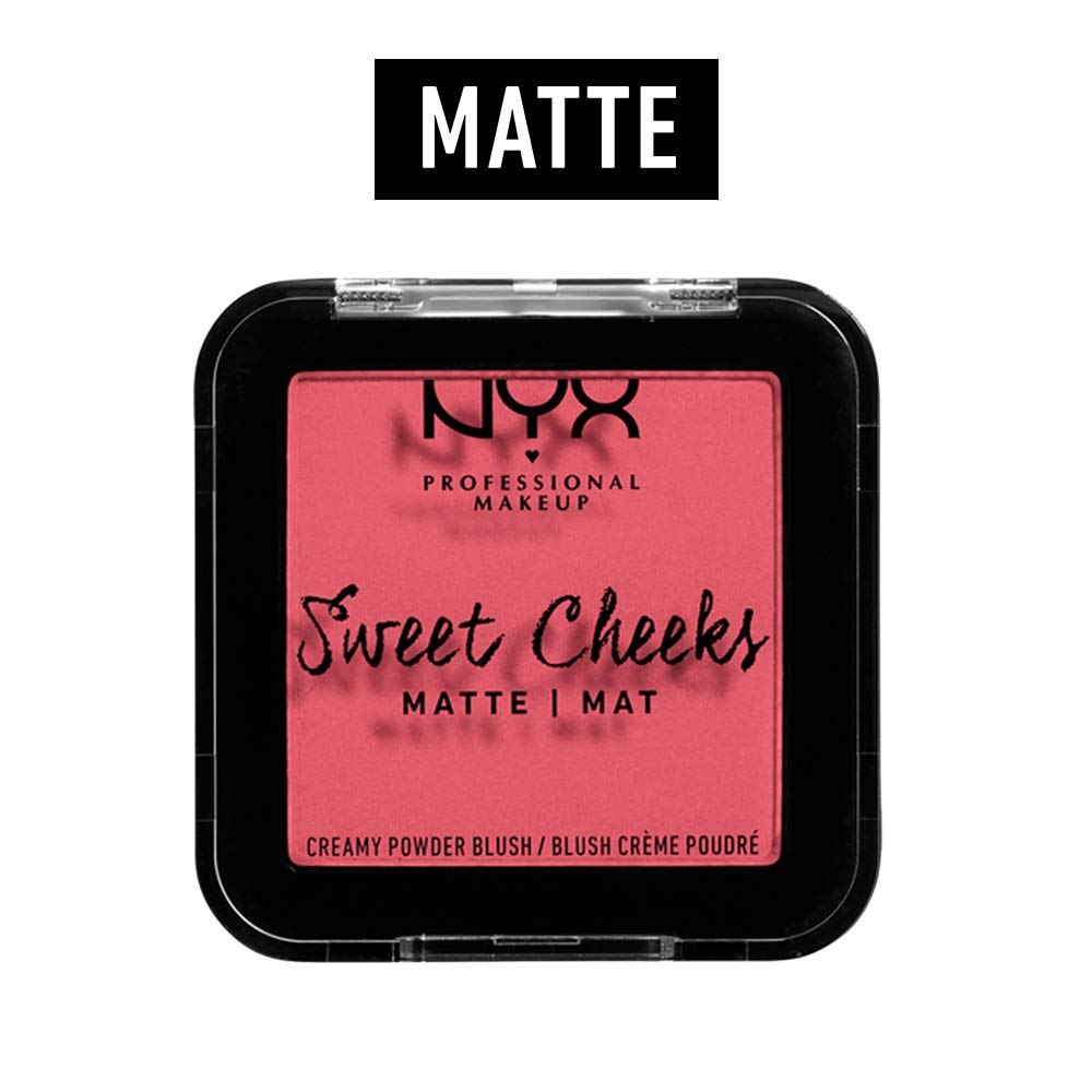 NYX PROFESSIONAL MAKEUP Sweet Cheeks Matte Blush, Day Dream