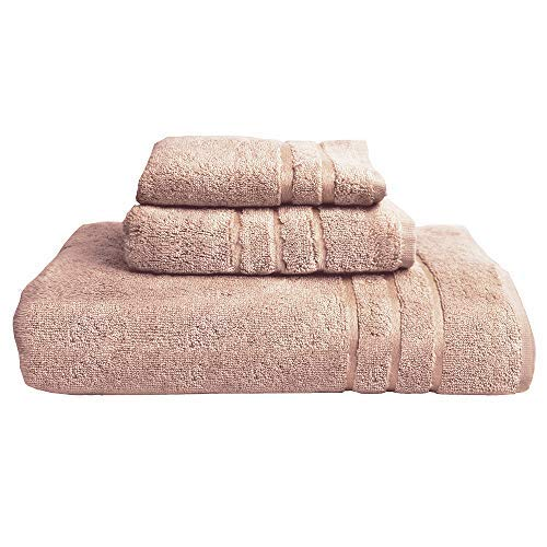 Cariloha 600 GSM Highly Absorbent Bamboo Bathroom Towels