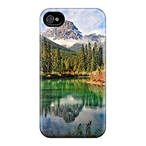 New Fashionable DanLuneau GrI22184OqKv Covers Cases Specially Made For Iphone 6(river In Mountains)
