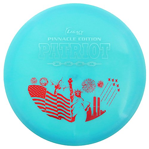 Patriot Driver (Legacy Discs Pinnacle Edition Patriot Fairway Driver Golf Disc [Colors may vary] - 171-175g)