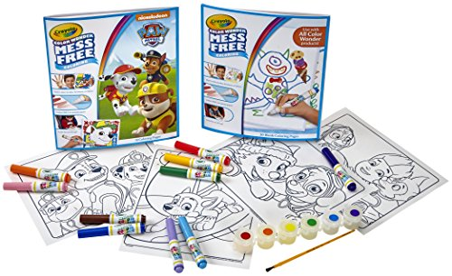 Color Wonder Paw Patrol Color Kit, Mess Free Color Wonder Markers, Coloring Pages, Coloring Gift for Kids (Amazon ()