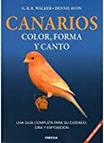 Canarios - Color Forma y Canto (Spanish Edition)