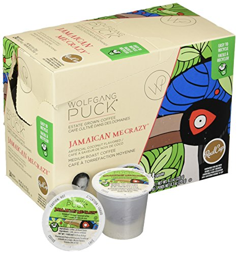 A Pristine Beach Warm Tropical Breezes And The Love Of: Wolfgang Puck Jamaican Me Crazy K-Cup Coffee, 96 Count