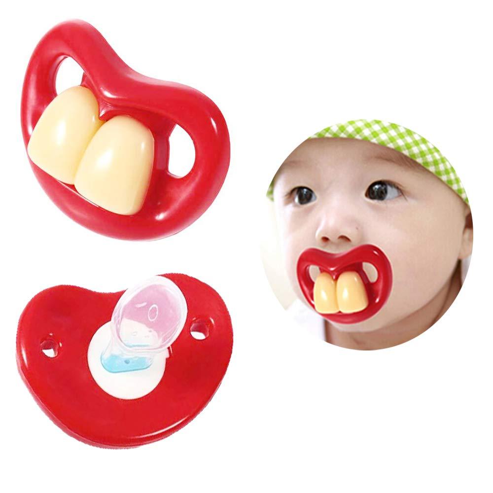 Amazon.com: Unetox – Bonito chupete para bebé, divertido ...