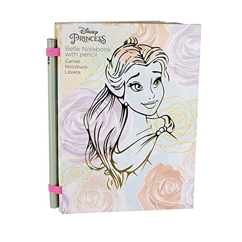 Officially Licensed Disney Beauty and The Beast Belle Notebook