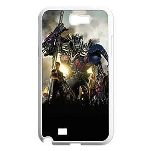 Transformers HILDA0081858 Phone Back Case Customized Art Print Design Hard Shell Protection Samsung Galaxy Note 2 N7100