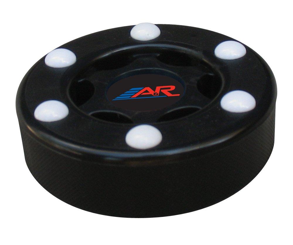 A & R Sports Inline Street Hockey Puck B009WVER2K ブラック