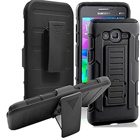 Galaxy S3 Case, Asstar Holster Case, New Generation Rugged Hybrid Dual Layers Armor Case with Kickstand and Belt Swivel Clip for Samsung Galaxy S3 S III I9300 GS3 All Carriers (Samsung Galaxy S3 Mini Batman)