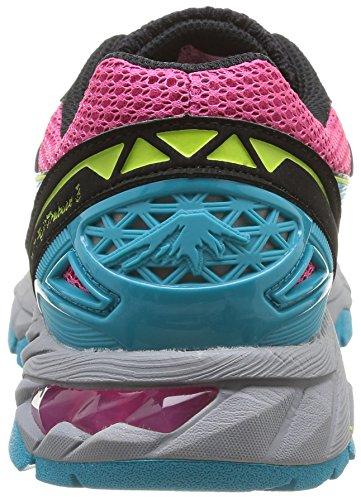 pour 3 Limette Chaussures Modèle Asics de Gel Magenta Fujitrabuco Türkis Femme Course wqcpfA0