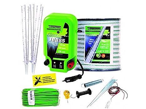 Recinto Elettrico Per Cani.Kit Recinzione Elettrica Anti Fugue Grande Cane Amazon It