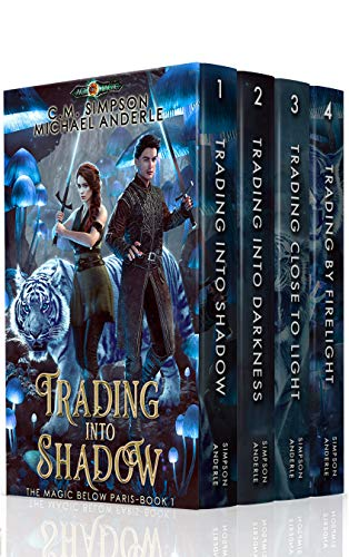 4-in-1 BOXED SET ALERT! After surviving a shadow monster ambush, Marsh must get back to civilization, keep two kids alive, and make a delivery…Magic Below Paris Boxed Set by C. M. Simpson and Michael Anderle