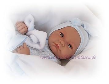 Amazon.es: Antonio Juan - Nico, muñeco recién Nacido con Manta (5070 ...