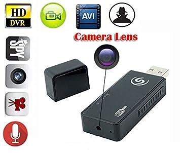 eptek @ Nanny cámara oculta Mini espía portátil cámara oculta USB Flash Drive U cámara de vídeo DV videograbador activé por movimiento con grabación Audio ...