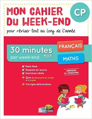 Livre Gratuits Mon Cahier Du Week End Cp Pdf Epub