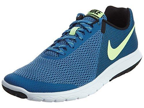 Nike Men's Shox NZ Running Shoe Star Blue/Ghost Green/Bla.