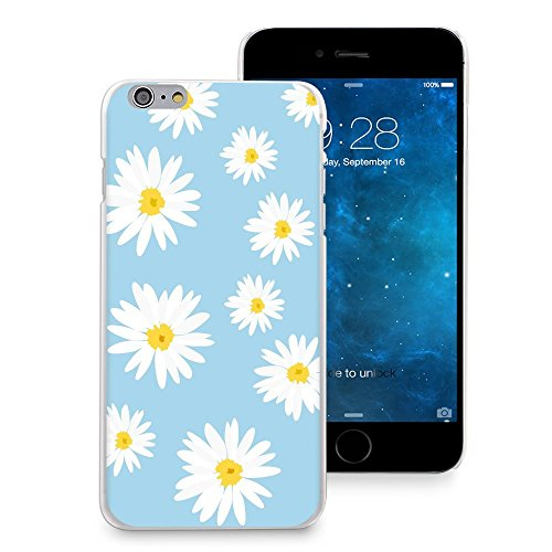 Daisy Flower Rubber - HelloGiftify iPhone 7/iPhone 8 Case, Daisy Floral Flower Print Phone Case Plastic Soft Rubber TPU Back Cover for iPhone 7/iPhone 8 (4.7