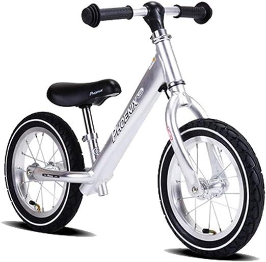 Bicicleta sin pedales Bici Bicicleta de Equilibrio para niño/niña ...