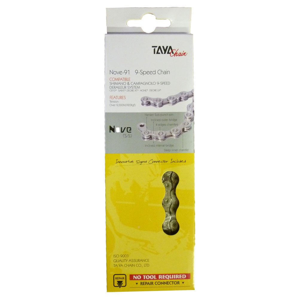 Taya Bicycle Chain 9 Speed Nove 91 Sports Outdoors Deorex