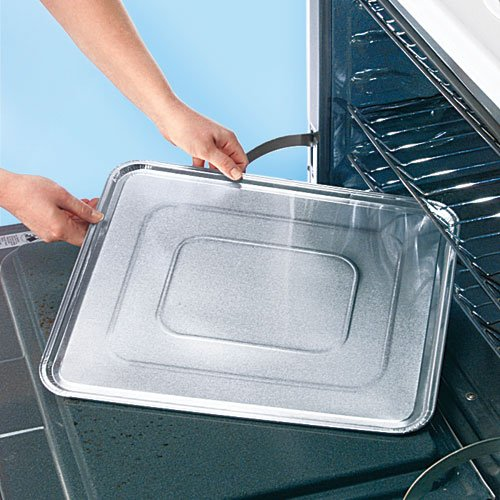 Oven Liners For Electric Ovens ~ Disposable foil oven liners set of chickadee solutions