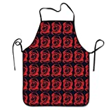 Chefs Apron Space Chimp Illustrator Practice Funny Kitchen Aprons Cooking Apron