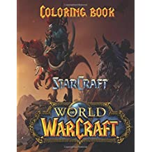 Starcraft Warcraft Coloring Book A Great For Kids Aged 3 On