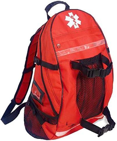 WYFC Erste-Hilfe-Kit-Rucksack - medizinischer Ersthelfer EMT/EMS-Tasche - Trauma-Kit,Red