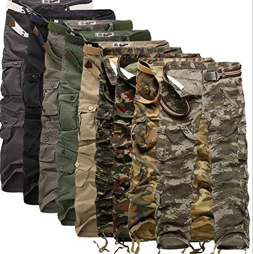 Completo Aperta Uomo Lunghi Carico Pantaloni Da Autunno Tempo Palestra Camouflage Cargo Il Primavera Libero All'aria Militare Per BTqBX4S