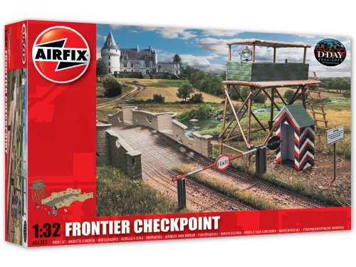 Airfix Frontier Checkpoint Model Kit (1:32 Scale)