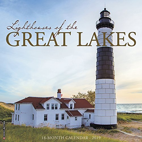 Lighthouses of the Great Lakes 2019 Wall Calendar Calendar – Wall Calendar, July 15, 2018 Willow Creek Press 1549203614 Calendars NON-CLASSIFIABLE