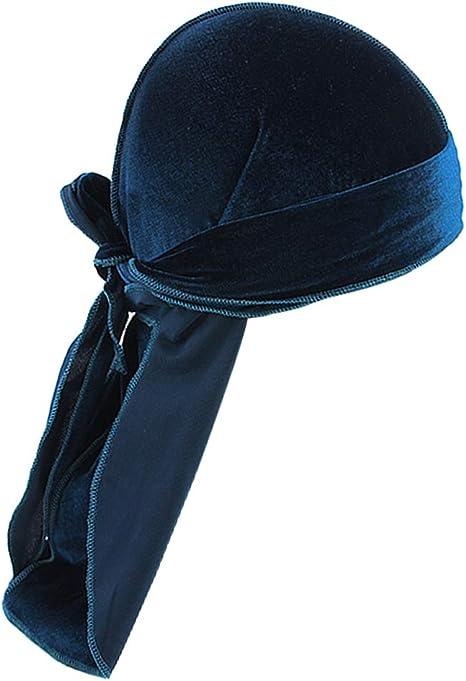 IPOTCH Sombrero Durag de Terciopelo para Hombres Mujeres