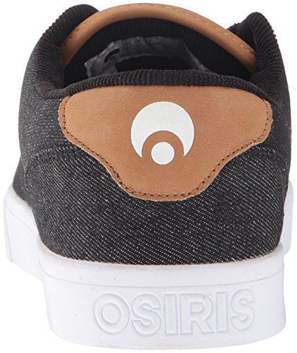 Osiris Mens Slappy Scarpa Da Skateboard Nero / Denim