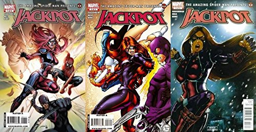 The Amazing Spider-Man Presents: Jackpot #1-3 (2010) Limited Series Marvel Comics - 3 Comics