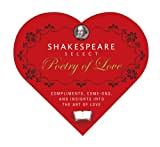 Shakespeare Select Poetry of Love, Eve Adamson, 1933662328