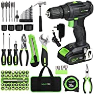 GALAX PRO - Taladro compacto de (2-Speed Drill with 68 Pieces Accessories)