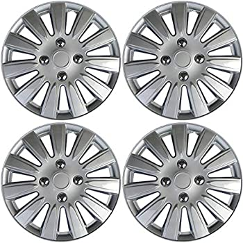 Amazon Com Bdk 4 Piece Kt 944 15 Silver Replacement Hubcaps Toyota