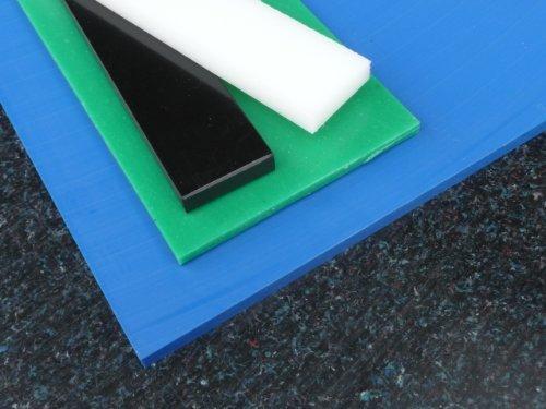 Lastre PE natura bianco 495 x 495 x 30 mm piastra PE-HD Pannello compatto alt-intech PE