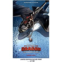 Lost Posters RARE POSTER dreamworks HOW TO TRAIN YOUR DRAGON: THE HIDDEN WORLD limited 2018 REPRINT #'d/100!! 12x18 SERIES 4