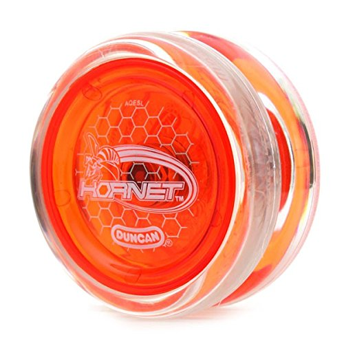 Duncan Hornet Clear with Red Cap Looping Yo Yo by Hornet