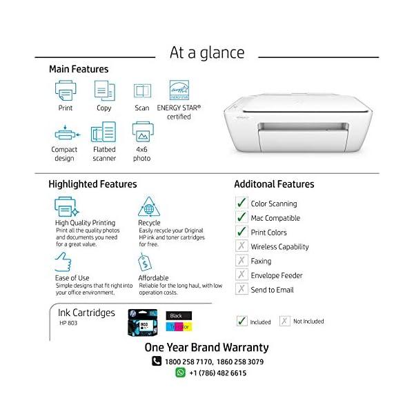 HP DeskJet 2131 All-in-One Inkjet Colour Printer