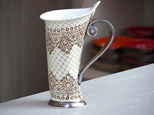 Amazon.com: Ceramic Mug, Tea Mug,Handbuilding, Ceramics