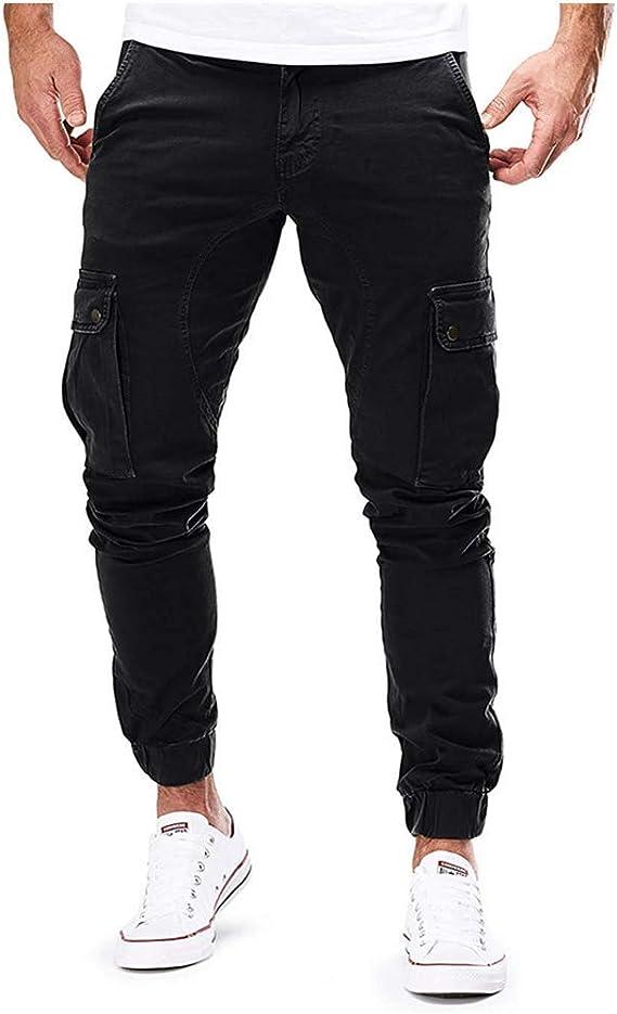 Blackzone Hombres Moda Elasticated Slim Casual Multi Pocket Long Sport Jeans Pantalones De Trabajo Casual Negro Xxxl Amazon Com Mx Ropa Zapatos Y Accesorios