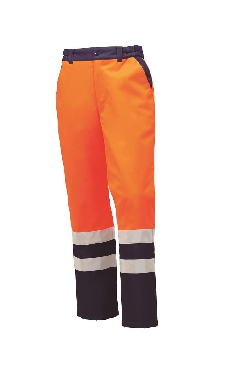 KR:57215 秋冬防水防寒パンツ<br>雨の中の長時間作業でも<br>中まで水を通さず暖かい!<br>2016年秋冬 B01LW2H1D4 S 28: オレンジ 28: オレンジ S