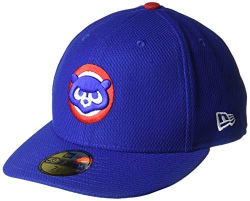 New Era Cap Co. Inc. Men's 11427618, Blue, 7.5 (Cubs Fitted Hat)